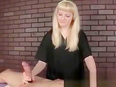 Feisty femdom masseuse capsizing patrons twine